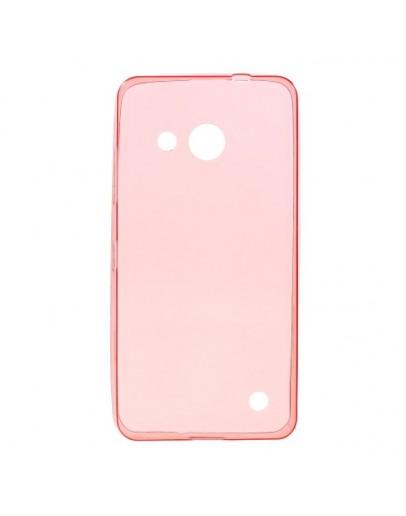 Carcasa protectie spate din gel TPU pentru Microsoft Lumia 550 - rosie