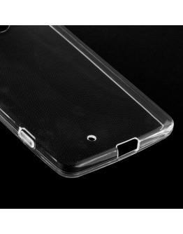 Carcasa protectie spate din gel TPU pentru Microsoft Lumia 950 - transparenta