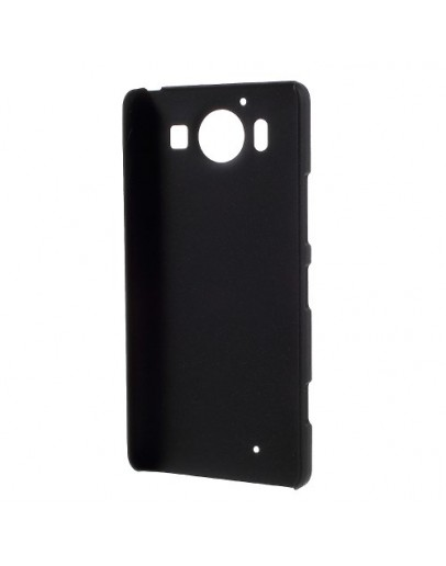 Carcasa protectie spate din plastic pentru Microsoft Lumia 950 - neagra