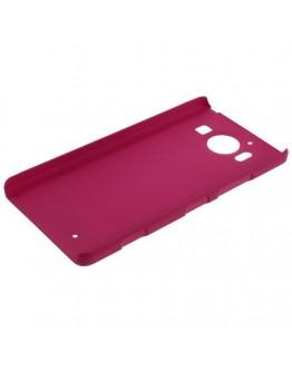 Carcasa protectie spate din plastic pentru Microsoft Lumia 950 - roz