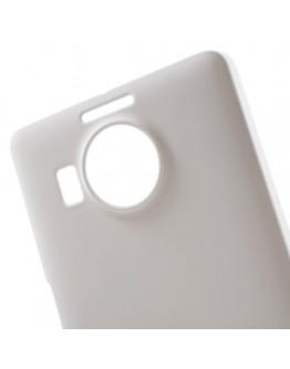Carcasa protectie spate din plastic pentru Microsoft Lumia 950 XL - alba