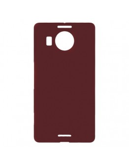Carcasa protectie spate din plastic pentru Microsoft Lumia 950 XL - rosie