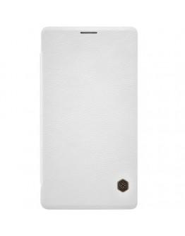Husa protectie flip cover pentru Microsoft Lumia 950 XL - alba
