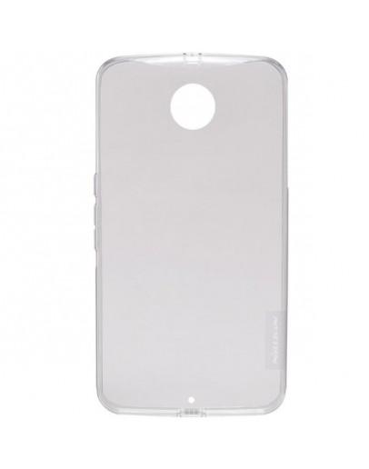 Carcasa protectie spate 0.6mm Nillkin pentru Motorola Nexus 6 - gri