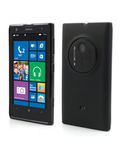 Carcasa protectie spate mata pentru Nokia Lumia 1020 - neagra