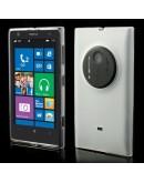 Carcasa protectie spate mata pentru Nokia Lumia 1020 - alba