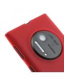 Carcasa protectie spate mata pentru Nokia Lumia 1020 - rosie