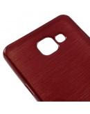 Carcasa protectie spate din gel TPU pentru Samsung Galaxy A5 SM-A510F (2016), rosie