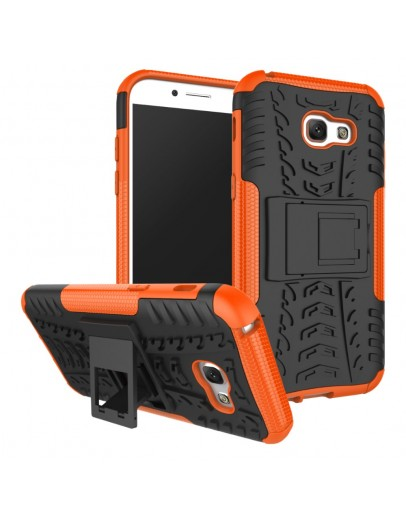 Carcasa protectie spate anti-alunecare pentru Samsung Galaxy A5 (2017), portocalie