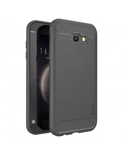 Carcasa protectie spate IPAKY din gel TPU pentru Samsung Galaxy A5 (2017), Gri