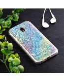 Carcasa protectie ,,Curcubeu'' din gel TPU pentru Samsung Galaxy J3 (2017)