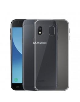 Carcasa protectie spate din gel TPU pentru Samsung Galaxy J3 (2017), transparenta