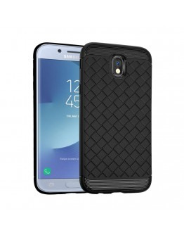 Carcasa protectie spate din gel TPU pentru Samsung Galaxy J3 (2017), neagra