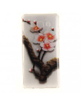 "Carcasa protectie spate imprimata ""flori de cires"" pentru Samsung Galaxy J5 (2016)"