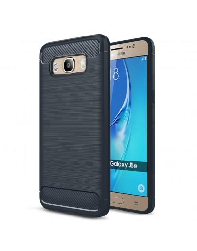 Carcasa protectie spate din gel TPU pentru Samsung Galaxy J5 (2016), albastra inchis