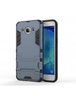 Carcasa protectie spate din gel TPU si plastic pentru Samsung Galaxy J5 (2016), albastra inchis