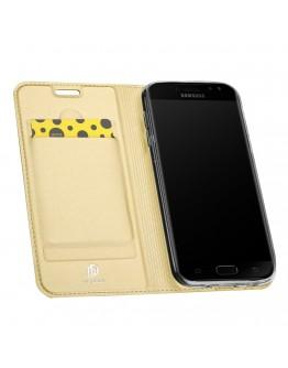 Husa protectie Dux Ducis pentru Samsung Galaxy J5 G530 (2017), gold
