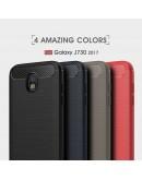 Carcasa protectie spate din gel TPU pentru Samsung Galaxy J7 G730 (2017), Gri