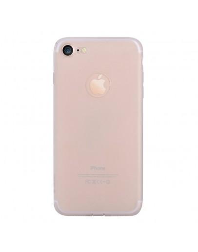 Carcasa protectie spate din gel TPU pentru iPhone 7, transparenta