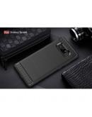 Carcasa protectie spate din gel TPU pentru Samsung Galaxy Note 8, neagra