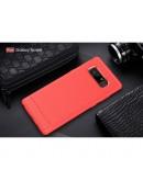Carcasa protectie spate din gel TPU pentru Samsung Galaxy Note 8, rosie