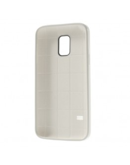 Carcasa protectie spate gel TPU pentru Samsung Galaxy S5 mini G800 - alba