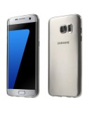 Carcasa protectie spate din gel TPU pentru Samsung Galaxy S7 Edge G935, gri