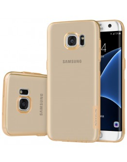 Carcasa protectie din gel TPU pentru Samsung Galaxy S7 Edge G935, gold