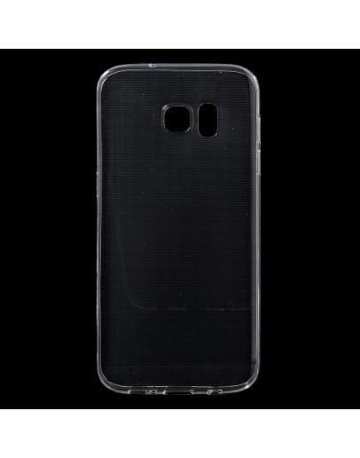 Carcasa protectie spate din gel TPU pentru Samsung Galaxy S7 Edge G935, transparenta
