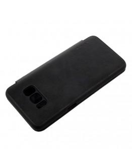 Husa protectie G-Case din piele ecologica pentru Samsung Galaxy S8 Plus, negru