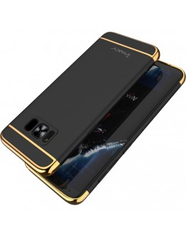 Carcasa protectie spate IPAKY din plastic pentru Samsung Galaxy S8 Plus, negru