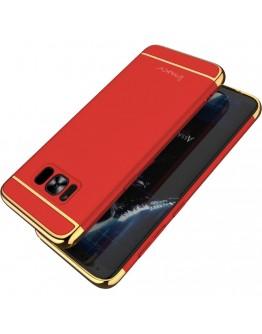 Carcasa protectie spate IPAKY din plastic pentru Samsung Galaxy S8 Plus, rosu