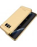Carcasa protectie spate IPAKY din plastic pentru Samsung Galaxy S8 Plus, gold