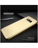 Carcasa protectie spate din plastic pentru Samsung Galaxy S8 G950, gold