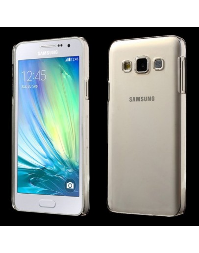 Carcasa protectie spate din plastic pentru Samsung Galaxy A3 SM-A300F - transparenta