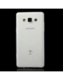 Carcasa protectie spate gel TPU 0.6 mm pentru Samsung Galaxy A5 SM-A500F - transparenta