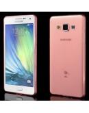 Carcasa protectie spate gel TPU 0.6 mm pentru Samsung Galaxy A5 SM-A500F - rosie