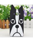 """Carcasa protectie spate din silicon """"dog"""" pentru Samsung Galaxy A5(2015)"""
