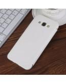 Husa protectie flip cover pentru Samsung Galaxy A8 SM-A800F, alba