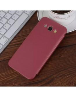 Husa protectie flip cover pentru Samsung Galaxy A8 SM-A800F, rosie