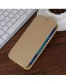 Husa protectie flip cover pentru Samsung Galaxy A8 SM-A800F, gold