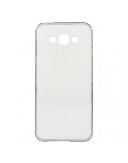 Carcasa protectie spate slim din gel TPU pentru Samsung Galaxy A8 SM-A800F, gri