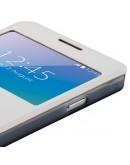 "Husa protectie ""Window View"" pentru Samsung Galaxy Alpha G850 - alba"