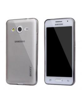 Carcasa protectie spate 0.5 mm pentru Samsung Galaxy Core 2 G355H  - neagra