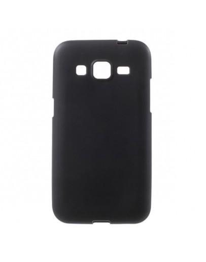 Carcasa protectie spate aspect mat pentru Samsung Galaxy Core Prime SM-G360 - neagra