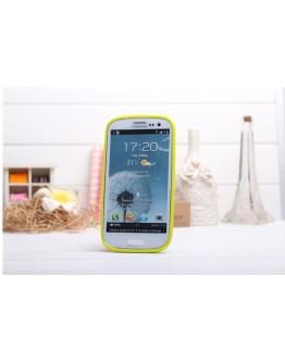 Carcasa protectie spate din silicon pentru Samsung Galaxy S3 - turcoaz
