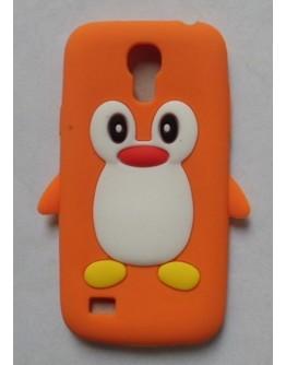 Carcasa protectie spate pinguin din silicon pentru Samsung Galaxy S4 I9500/9505