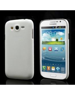 Carcasa protectie spate din plastic pentru Samsung Galaxy Grand / Neo - alba