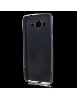 Carcasa protectie spate 0.6mm din gel TPU pentru Samsung Galaxy Grand Prime SM-G530H - transparenta