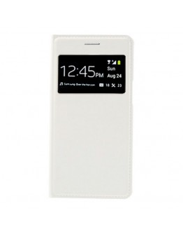 Husa protectie Smart View pentru Samsung Galaxy Grand 2 G7102/7105 - alba